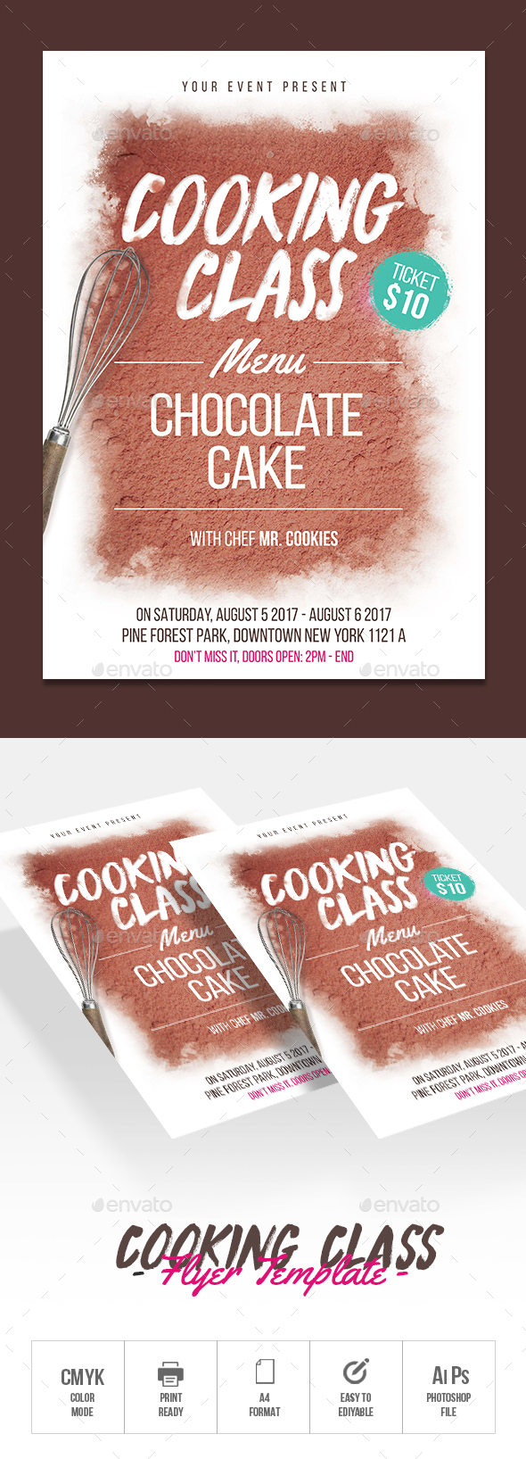 GraphicRiver Cooking Class 20471999