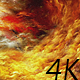 Abstract Yellow-Red Nebulae in Space