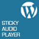 Sticky Audio Player for WordPress