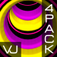 Colorful Tunnel VJ Pack