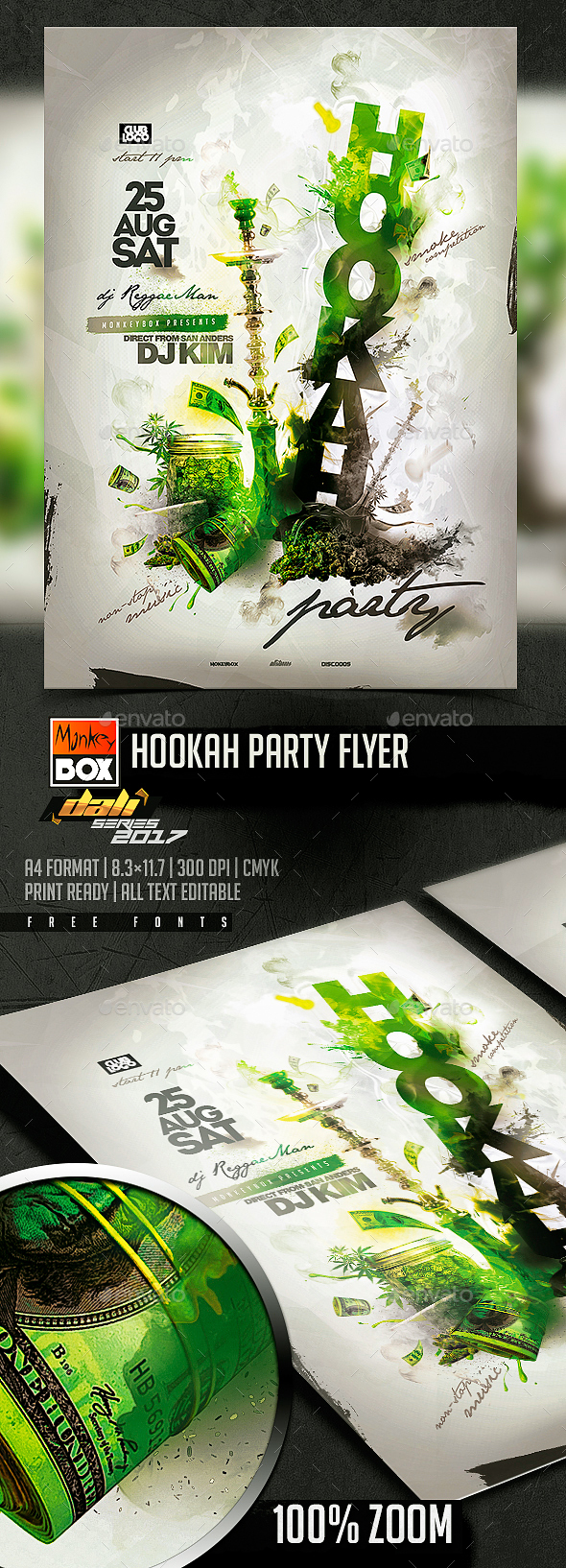 Hookah Party Flyer - Clubs & Parties Events