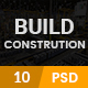 Build - Construction PSD Template
