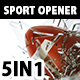 Fast Sport Ball Opener 5in1 - VideoHive Item for Sale