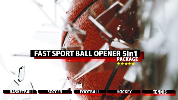 Fast Sport Ball Opener 5in1