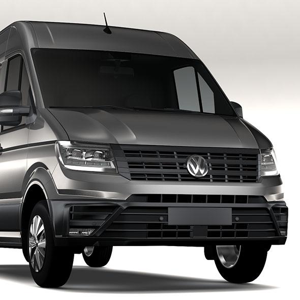 WV Crafter Van L2H2 2017 - 3DOcean Item for Sale