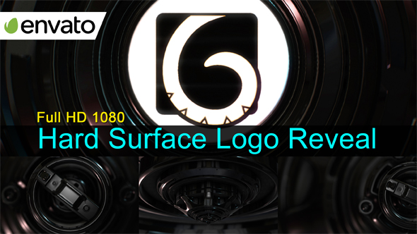 Hard Surface Logo Reveal / Element 3D