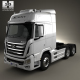 Hyundai XCient P520 Tractor Truck 2013 - 3DOcean Item for Sale