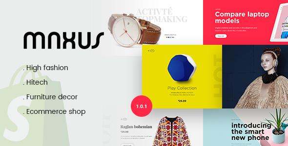 Image of Maxus - Multi Store Responsive Shopify Theme
