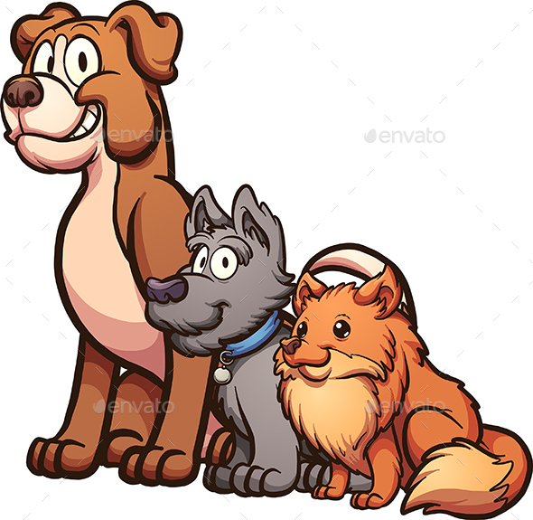 Cartoon Dogs - Animals Characters