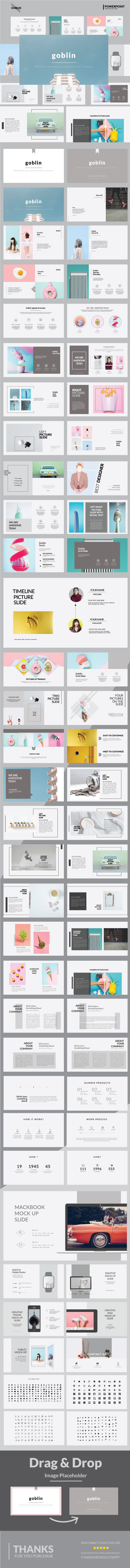 GraphicRiver Goblin Google Slide Presentation Templates 20473348