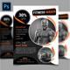 Fitness & Gym Flyer vol 4