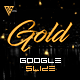 Gold Google Slides Template