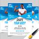 Fitness Flyer Design - GraphicRiver Item for Sale