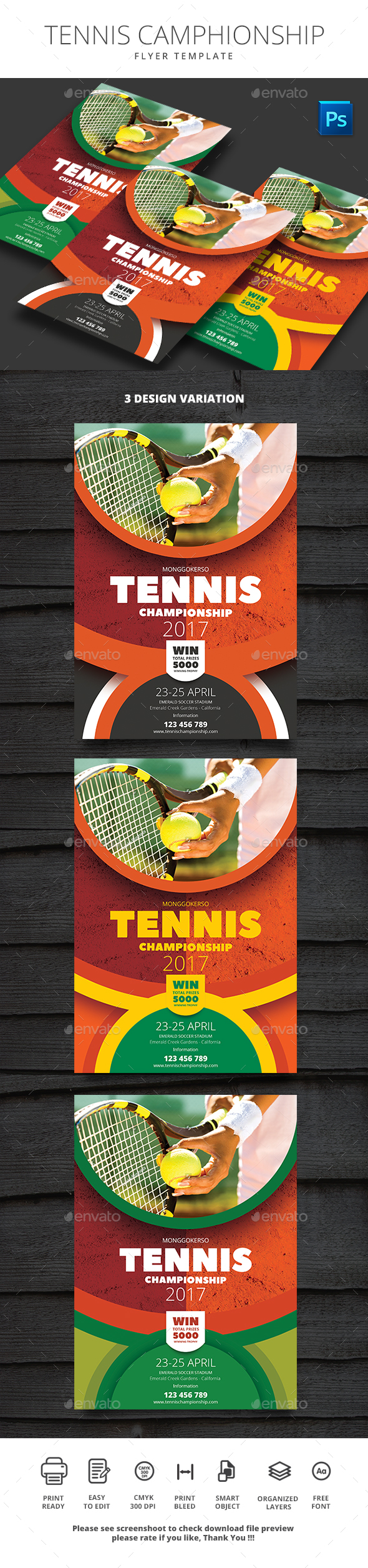 Tennis Championship - Sports Events