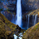 Kegon waterfall in autumn, Nikko, Japan - PhotoDune Item for Sale