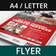 Logistic Frieght Services Flyer - GraphicRiver Item for Sale