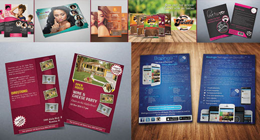 I will design Marketing Flyers and Brochures for you Company