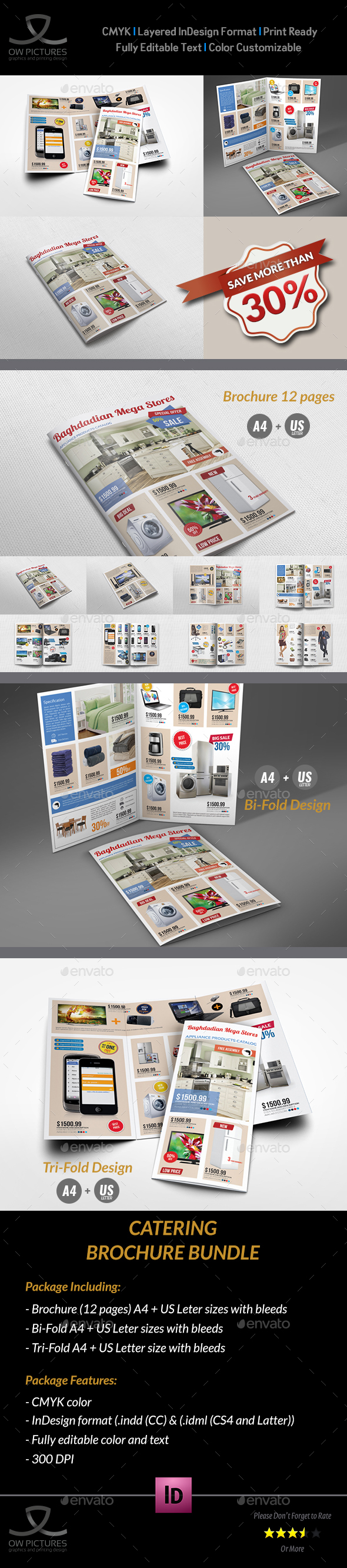 Products Catalog Brochure Bundle Vol.4 - Catalogs Brochures