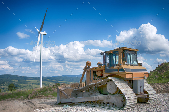 building wind turbines