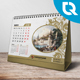 Calendar 2018 Gold & Silver - GraphicRiver Item for Sale