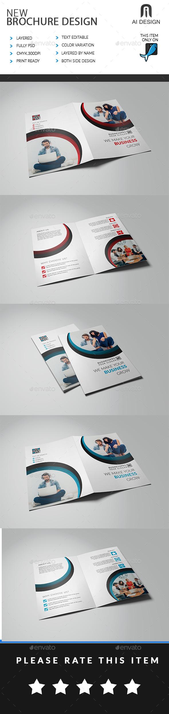 Bi Fold Brochure - Brochures Print Templates