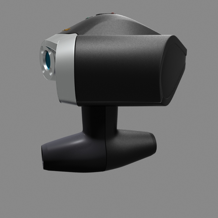 portable 3d laser scanner by polygon3d 3docean. Black Bedroom Furniture Sets. Home Design Ideas
