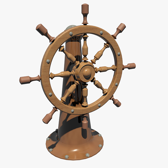 Ship's Wheel - 3DOcean Item for Sale