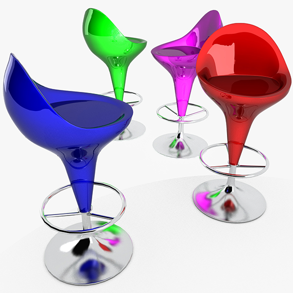 3DOcean Bar Stool 20474390