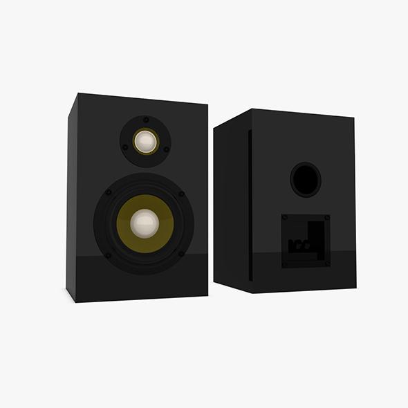 3DOcean Speaker Box 20474406