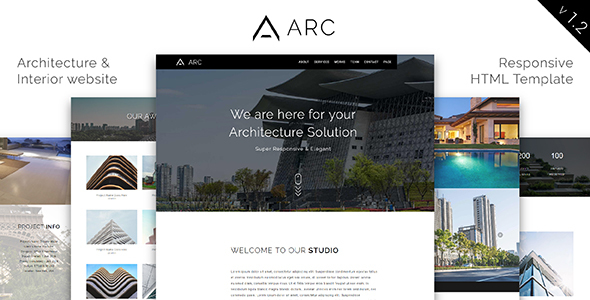 ARC_Architecture / Interior / Construction HTML Template
