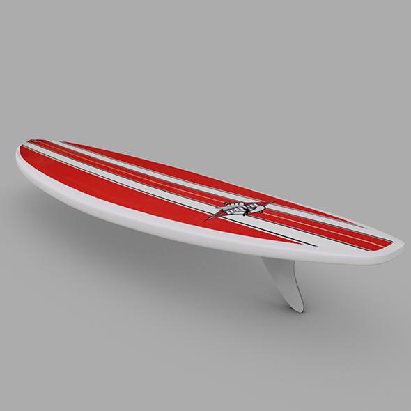 3DOcean Surfboard 02 20474568