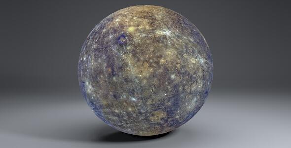 3DOcean Mercury 8k Globe 20474602