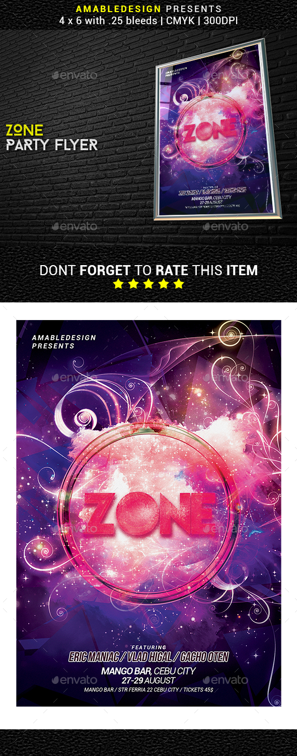 Electro Zone Flyer - Events Flyers