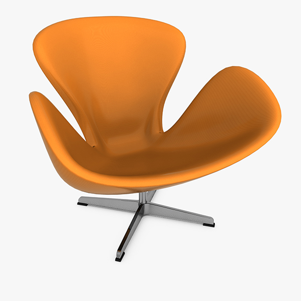 3DOcean Swan Chair 20474875