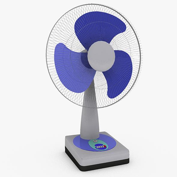 3DOcean Table Fan 20474911