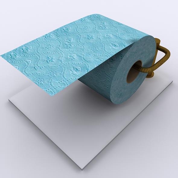 3DOcean Toilet Tissue Paper 02 20474923
