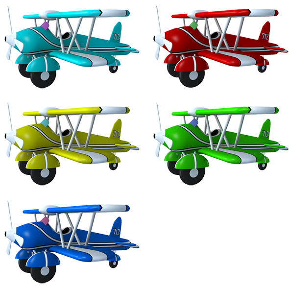 3DOcean Toy Aroplane 20474931