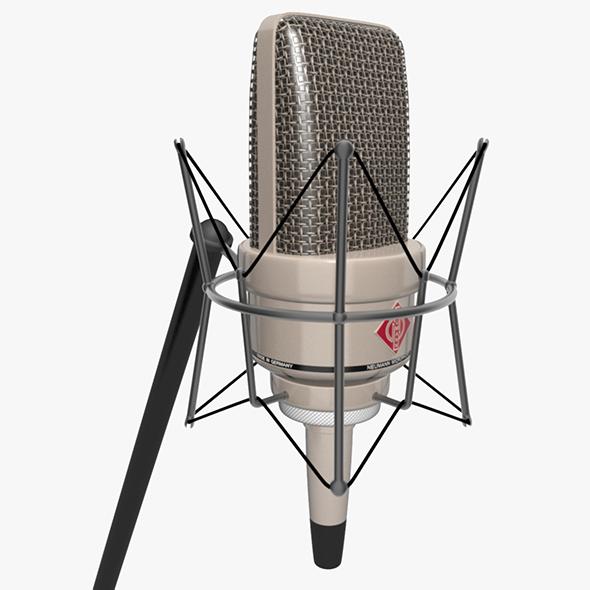 3DOcean Vintage Mounted Microphone 20475080