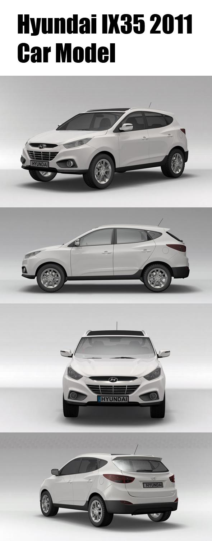 Hyundai IX35 2011 - 3DOcean Item for Sale