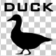 Duck Walk Silhouette Animation - VideoHive Item for Sale