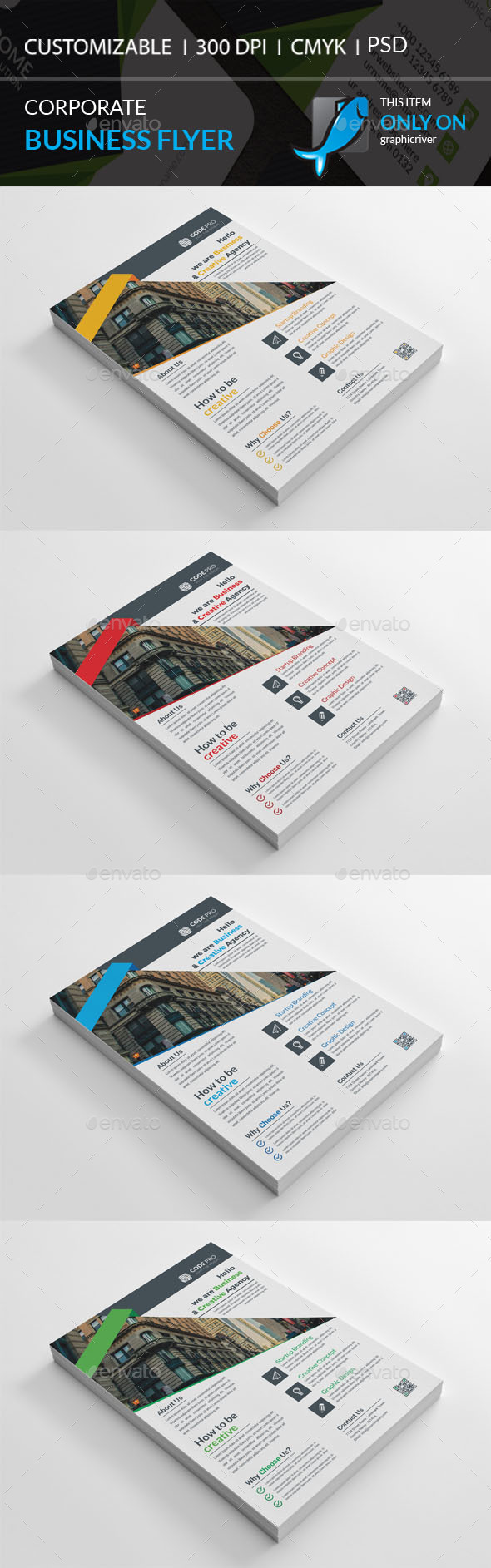 GraphicRiver Corporate Flyer 20475163
