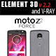 Moto Z2 Force GRAY model