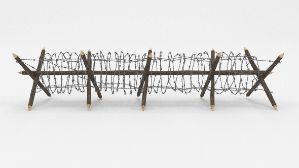 3DOcean Barb Wire Obstacle 11 20475528