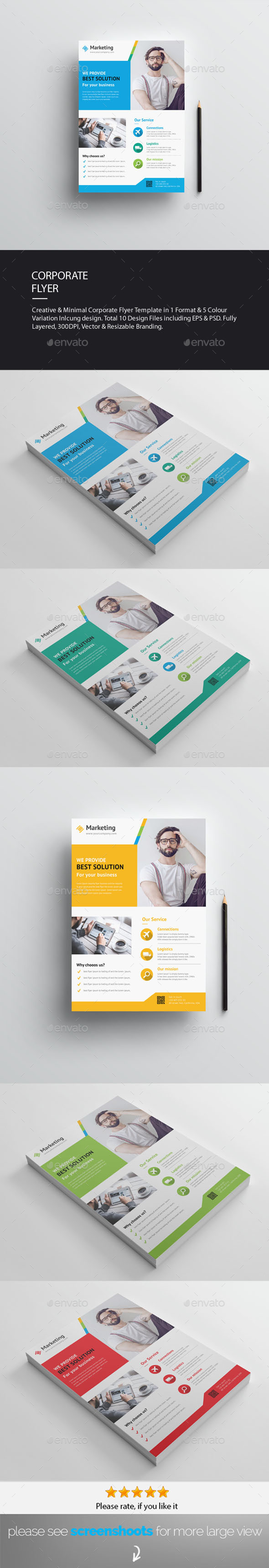 GraphicRiver Flyers 20475628