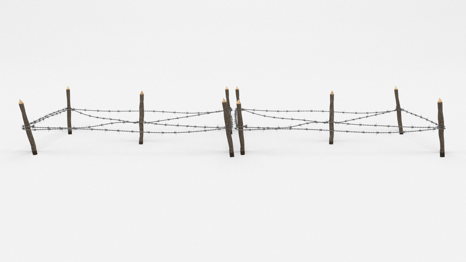 Barb Wire Obstacle 17