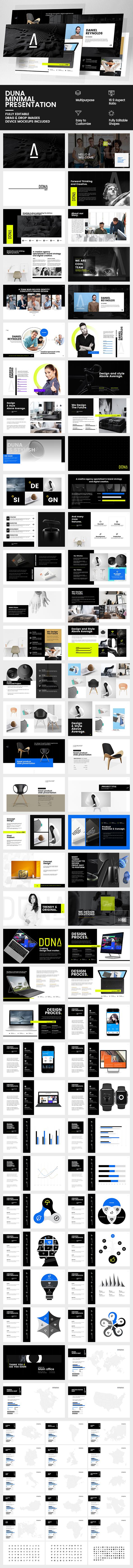 GraphicRiver Duna Minimal Presentation 20476056