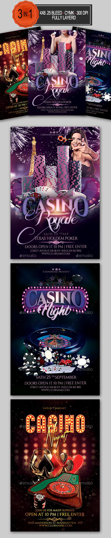 Casino Flyer Bundle - Clubs & Parties Events