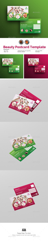 GraphicRiver Spa Beauty Postcard 20476347