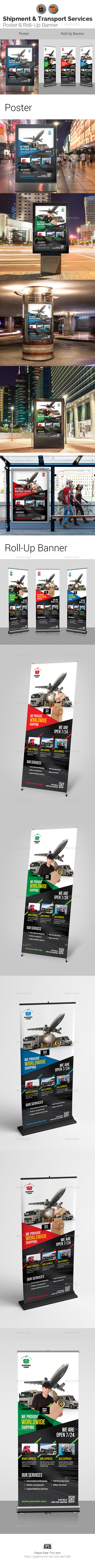 Delivery & Transport Services Signage - Signage Print Templates