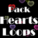 Hearts Loops (9-Pack)